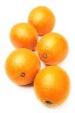 Whole oranges Royalty Free Stock Image
