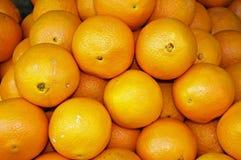 Whole oranges. Royalty Free Stock Photos