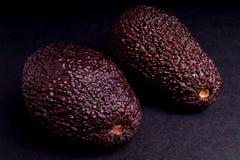 Whole Organic Ripe Avocado Stock Photos