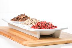 Whole Pink Peppercorns Stock Image