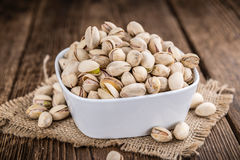 Whole Pistachios Royalty Free Stock Images