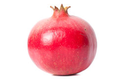 Whole pomegranate Stock Image