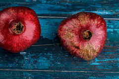 Whole Pomegranate Stock Images