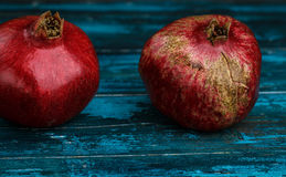 Whole Pomegranate Grenadine Royalty Free Stock Photos