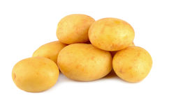 Whole potatoes Royalty Free Stock Image