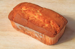 Pound Cake. On cutting board royalty free stock photo