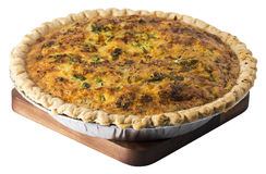 Whole Quiche Royalty Free Stock Photography