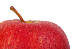 Whole red apple Stock Photo