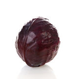 Whole red cabbage Stock Photography