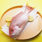 Whole Red Snapper Royalty Free Stock Images
