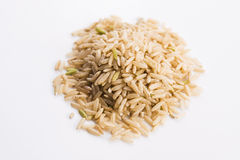 Whole rice pile Royalty Free Stock Photo