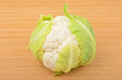 Whole ripe cauliflower Royalty Free Stock Photography