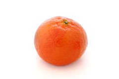 Whole ripe mandarine Royalty Free Stock Photo