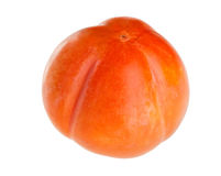 Whole ripe persimmon fruit Royalty Free Stock Image