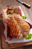 Whole roasted duck Royalty Free Stock Photo