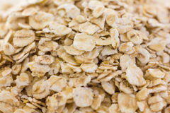 Whole rolled oats Stock Images