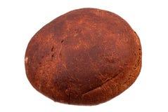 Whole round rye bread on white. Whole round rye bread isolated on white Stock Image