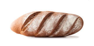 Whole Rye Bread , isolated Royalty Free Stock Photography