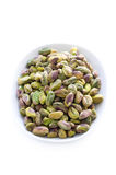 Whole shelled pistachio nuts Stock Photography