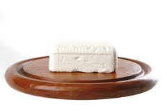 Whole soft cheese Royalty Free Stock Photography