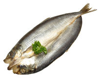 Whole Split Kipper Royalty Free Stock Photos