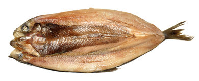 Whole Split Kipper Stock Photo
