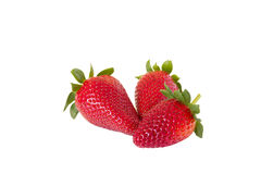Whole strawberries Royalty Free Stock Image