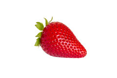 Whole strawberry Royalty Free Stock Photography