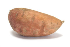 sweet potato. Whole sweet potato  on white Royalty Free Stock Images