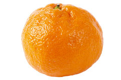 Whole tangerine Royalty Free Stock Image