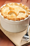 Whole Turkey Pot Pie Royalty Free Stock Photos