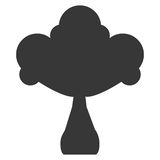 Whole turnip with leaves icon silhouette Royalty Free Stock Photography