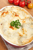 Whole Vegetarian Lasagna Royalty Free Stock Photography