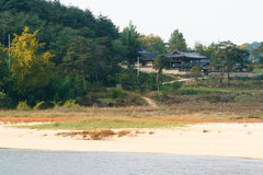 Whole view of Hwacheonseowon Royalty Free Stock Photos