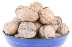 Whole walnuts Stock Photo