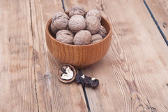 Whole walnuts Royalty Free Stock Image