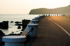 The whole way in Sattahip Royalty Free Stock Photo