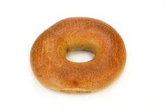 Whole wheat bagel Stock Photography