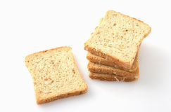 Whole wheat biscuits Stock Images