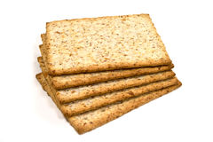 Whole wheat biscuits Stock Photos