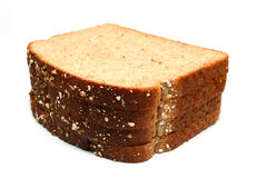 Whole wheat bread royalty free stock images
