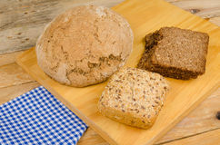 Whole wheat bread, German cuisine Stock Photography