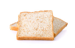 Whole wheat Bread isolated on the white background Royalty Free Stock Image