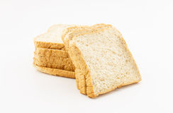 Whole wheat bread isolated on white background Royalty Free Stock Image