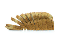 Whole wheat bread loaf Stock Photo