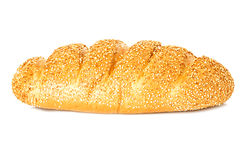 Whole wheat bread, long loaf Royalty Free Stock Image