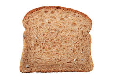 Whole wheat bread slice Stock Photos
