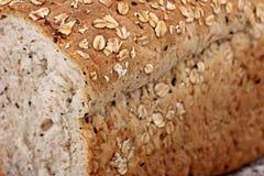 Whole wheat bread sliced Stock Image