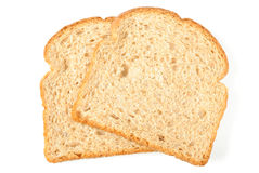 Whole Wheat Bread Slices Royalty Free Stock Image