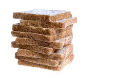 Whole Wheat Bread Slices Royalty Free Stock Photo